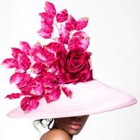 Selena, Pink Derby Hat by Arturo Rios