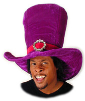 Giant Alice Purple Top Hat