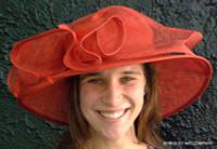 Derby Sinamay Hat