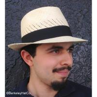 Ventilated Panama Fedora, Natural