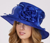 Royal Blue Afternoon Tea Hat
