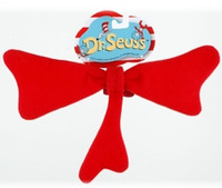 Dr. Seuss Cat in the Hat Red Bow Tie