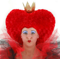 Alice in Wonderland Red Queen crowned Headpiece