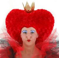 Alice in Wonderland Red Queen crowned Headpiece