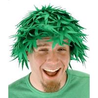Pot leaf wig