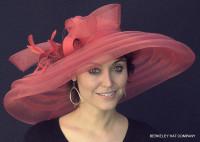 Red Classy Sassy Derby Hat.
