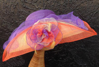 California Sunset Kentucky Derby Hat.