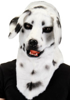 dalmation spotted mouth mover dog mask