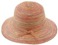 Multi-Color Medium Brim Sun Hat