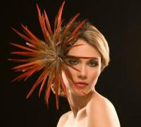 Francesca Fascinator Hat by Arturo Rios