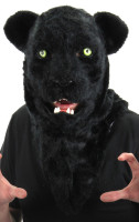 Black panther mouth mover mask by Elope