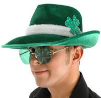 St. Patrick's Day Fedora
