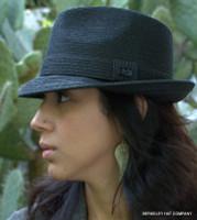 Billy Bailey Straw Fedora Hat