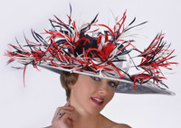 Patriotic Kentucky Derby Hat - FREE U.S. EXPRESS SHIPPING!