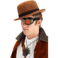 steampunk geared eyepatch