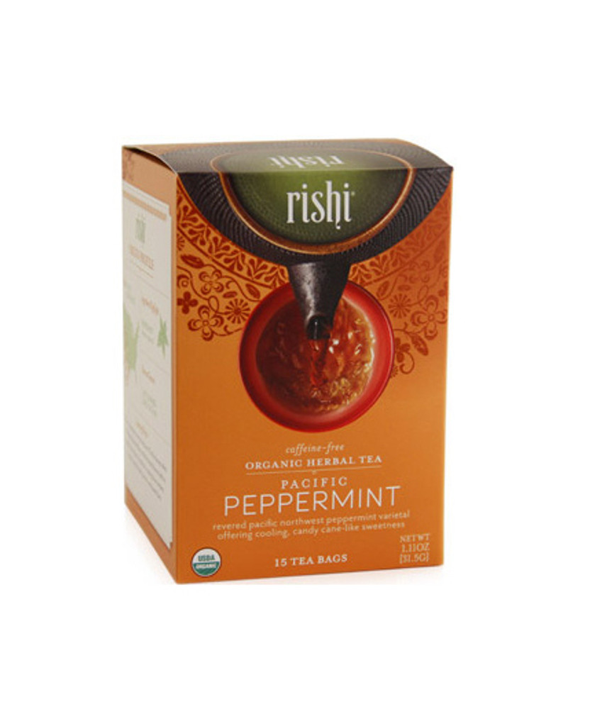 Rishi Pacific Peppermint Tea (caffeine free)