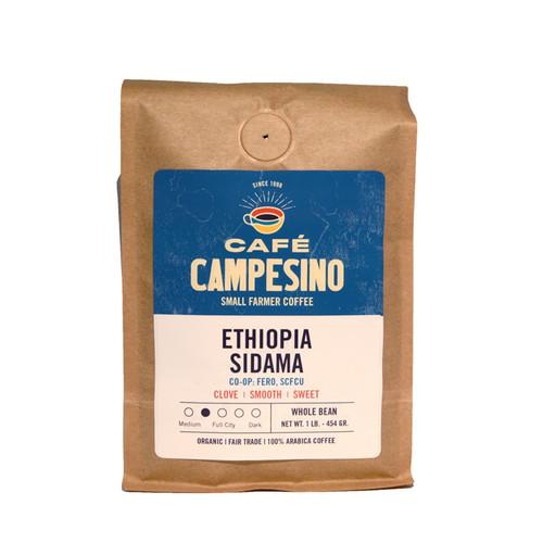 Ethiopia Sidama Full City Roast Coffee