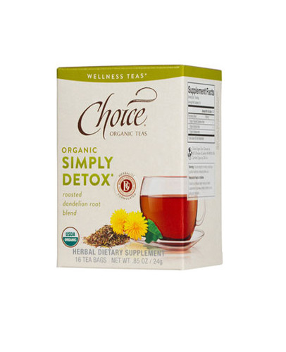 Choice Simply Detox Tea (caffeine free)