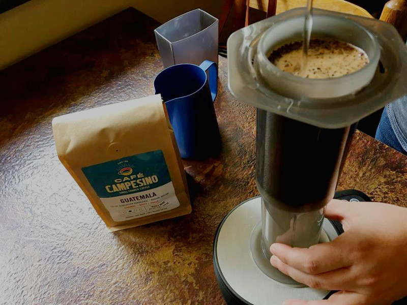 An Aeropress Recipe For Brewing at Home