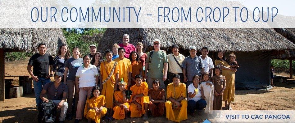 Cafe Campesino team visiting CAC Pangoa in Peru