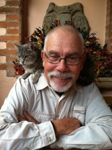 Clive Rainey, cat-lover, Fernando's Kaffee frequenter, Habitat volunteer and all around fantastic BIRD Guide. Thank you, Clive!
