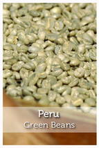 Peru Fair Trade Organic Green Coffee Beans