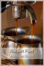 Rocket Fuel Espresso Medium Roast Coffee