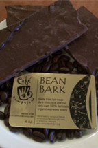 Fair Trade Dark Chocolate Bean Bark (4 oz)
