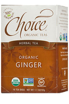 Choice Ginger Tea (caffeine free)