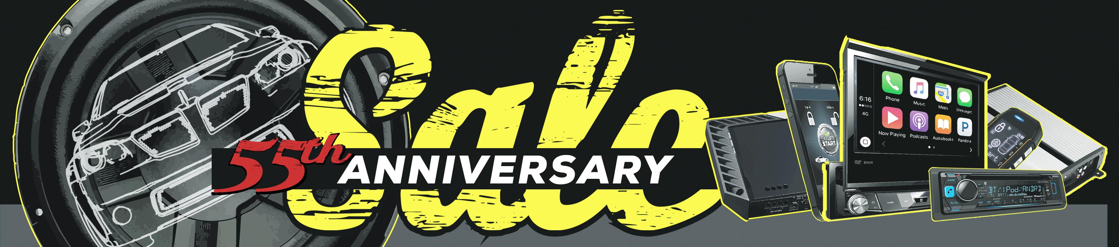 Drive-In Autosound 55th Anniversary Sale!
