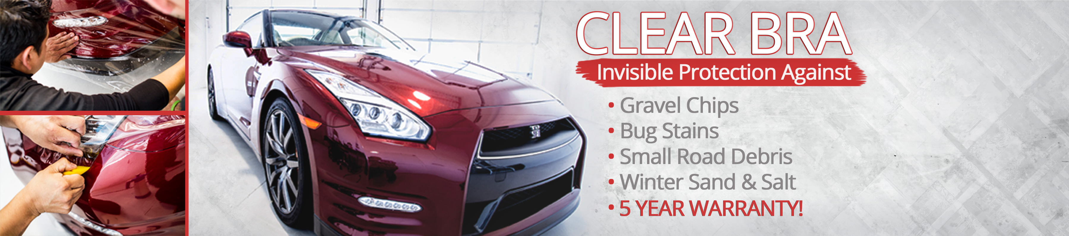 Clear Bra Car Paint Protection