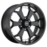 20 in. Pro Comp Series 8180 Adreniline Alloy Wheel Gloss Black Machined Accents - 8180-2936