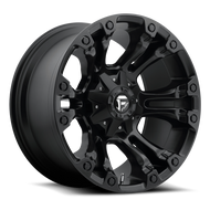 MHT Fuel 1 Piece Vapor Wheel Matte Black Available in Multiple Sizes - D560 *Product image shown not representative of all configurations. Vehicle specific fitment will change offset, dish and center profile.