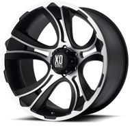 XD Crank Cast Aluminium Wheel Available in Matte Black Machined
