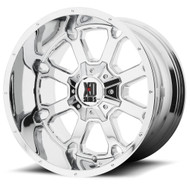 XD Buck 25 Cast Aluminium Wheel in Chrome