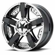 XD RS2 Cast Aluminium Wheel with PVD Center with Matte Black Accents
