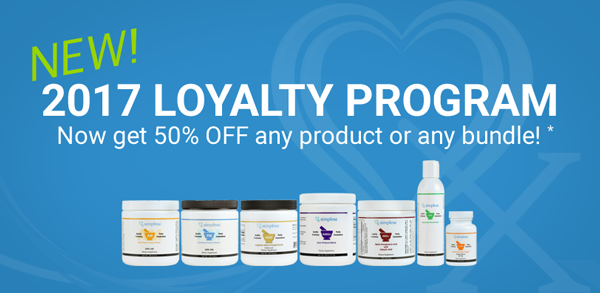 Simplesa Nutrition Loyalty Banner