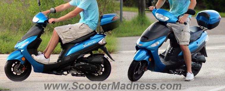 Atm50 A1 Taotao Adult 50cc Gas Moped