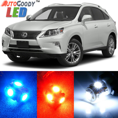Premium Interior LED Lights Package Upgrade for Lexus RX350 RX450h (2010-2015)