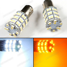 Dual Color LED Switchback Turn Signal Lights 1157 2357 BA15s