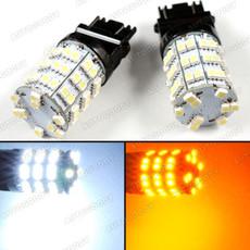 Dual Color LED Switchback Turn Signal Lights 3157 3457 3057 4157