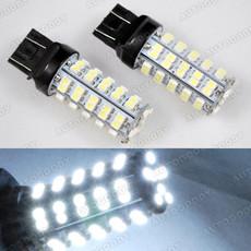 68-SMD White LED Bulbs for Stop Brake Lights 7440 7443