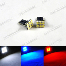 T10 Wedge Light LED Bulbs 12-SMD