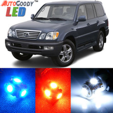 Premium Interior LED Lights Package Upgrade for Lexus LX470 (1999-2007)