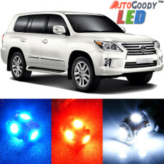 Premium Interior LED Lights Package Upgrade for Lexus LX570 (2008-2015)