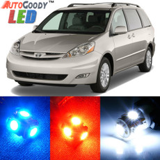 Premium Interior LED Lights Package Upgrade for Toyota Sienna (2004-2010)