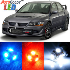 Premium Interior LED Lights Package Upgrade for Mitsubishi Lancer Evolution 8 9 (2003-2007)