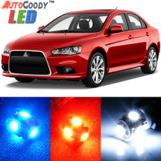 Premium Interior LED Lights Package Upgrade for Mitsubishi Lancer (2007-2017)