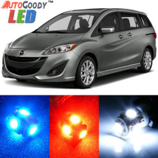 Premium Interior LED Lights Package Upgrade for Mazda 5 Mazda5 (2006-2015)