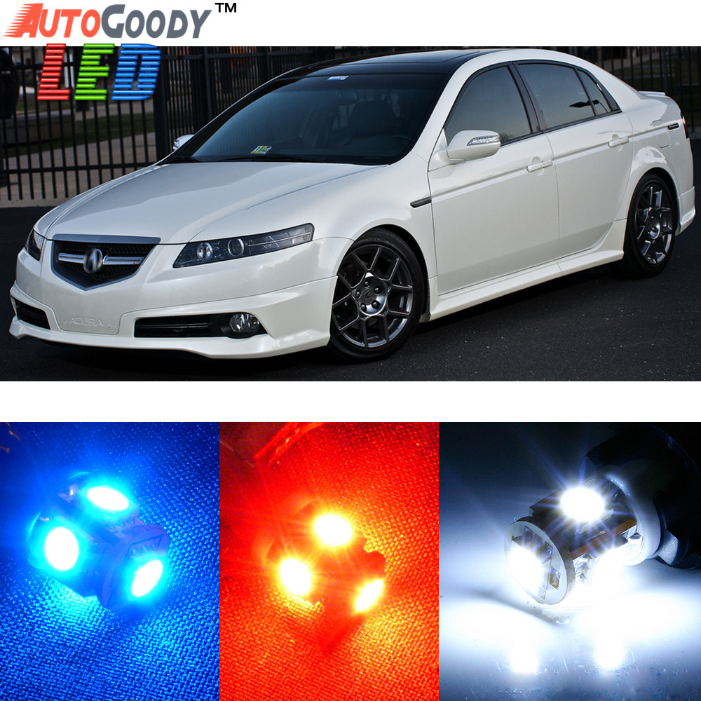 Premium Interior LED Lights Package Upgrade For Acura TL - 2004 acura tl upgrades